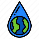 drop, ecology, environment, save, water icon