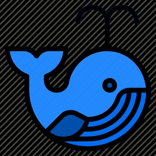anima, ocean, sea, whale, wildlife icon