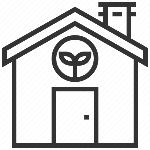 eco, ecology, green, house, recycle icon