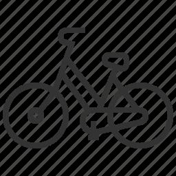 bicycle, eco, ecology, energy, green icon