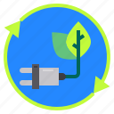 eco, ecology, energy, nature, recycle icon