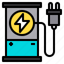 battery, charge, eco, ecology, energy, power icon