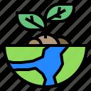 ecology, globe, nature, plant, world