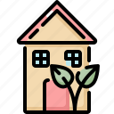 ecology, environment, home, house, nature, plant