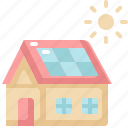 cell, ecology, environment, house, nature, panel, solar