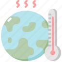 ecology, environment, global, nature, thermometer, warming