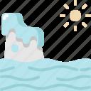 ecology, environment, ice, iceberg, melting, nature