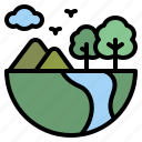 earth, ecology, environment, nature icon