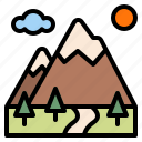 ecology, forest, mountain, nature
