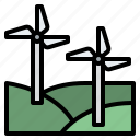ecology, energy, nature, wind, windmill