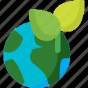 earth, global, globe, leaf, planet, plant, world