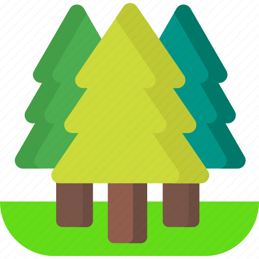 environment, forest, garden, green, jungle, nature, tree icon