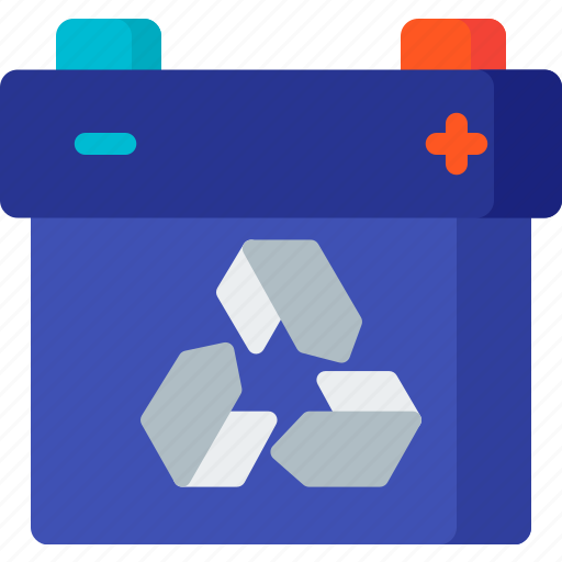 battery, charging, delete, electricity, energy, garbage, recycle icon