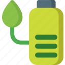 battery, change, charge, charging, electricity, garden, plant icon