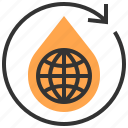 eco, ecological, ecology, energy, recycle, save, environment icon