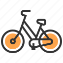 eco, ecological, ecology, energy, recycle, save, bicycle icon
