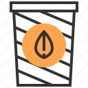bin, bucket, eco, ecological, ecology, energy, recycle icon