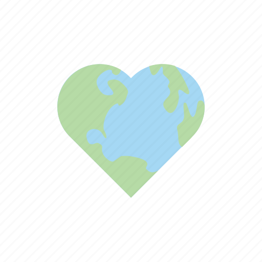 earth, eco, ecology, love, nature, planet, save icon