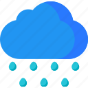 clouds, cloudy, forecast, rain, rainy, storm, weather icon