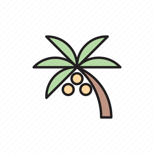 damage, eco, ecology, palm, palm oil, pollution icon