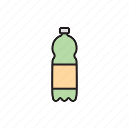 bottle, eco, ecology, plastic, pollution, recycle, waste icon