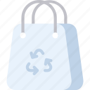recycled bag, recycle, recycled plastic bag, plastic bag, recycle bag, renewable icon