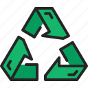 recycle, arrow, recycling, renewable, reuse