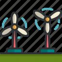 wind, turbine, renewable, green, energy, ecology
