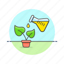 ecology, genetic, gmo, modified, organism, sprout icon