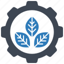 ecology, plant, setting icon
