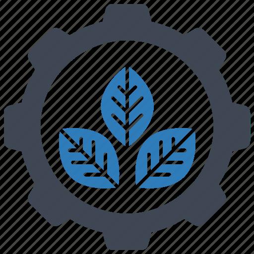 ecology, plant, setting icon