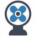 cooler, fan, table fan icon