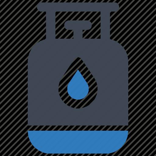 cylinder, gas, kitchen icon
