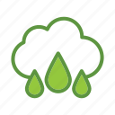 eco, ecology, energy, green, nature, water icon