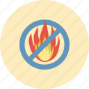 conservative, danger, ecology, environment, fire, nature, warning icon
