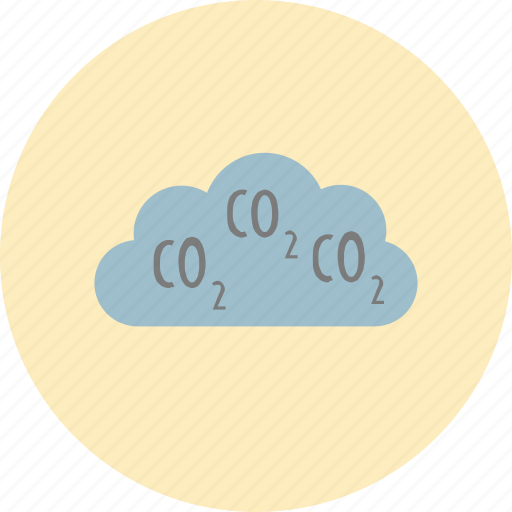 carbondioxide, cloud, conservative, ecology, environment, nature, pollution icon