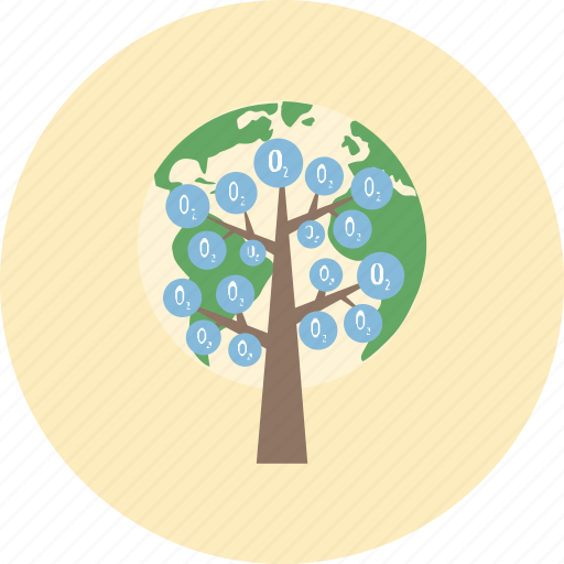 conservative, earth, ecology, environment, nature, oxygen, tree icon