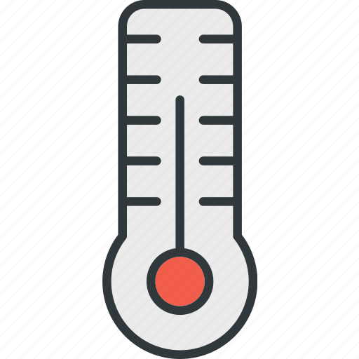 celsius, thermometer, weather icon