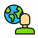 bio, earth, eco, ecofriend, ecology, nature, person icon