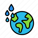 bio, earth, eco, ecofriend, ecology, nature, water icon