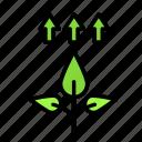 bio, eco, ecofriend, ecology, grow, nature icon