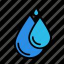 bio, eco, ecofriend, ecology, nature, raindrop, s icon