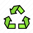 bio, eco, ecofriend, ecology, nature, recycle, sign icon