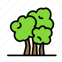 bio, eco, ecofriend, ecology, nature, trees icon