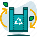 bin, ecology, garbage, garden, nature, recycle, trash icon