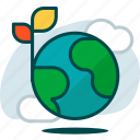 earth, eco, ecology, globe, nature, planet, world icon