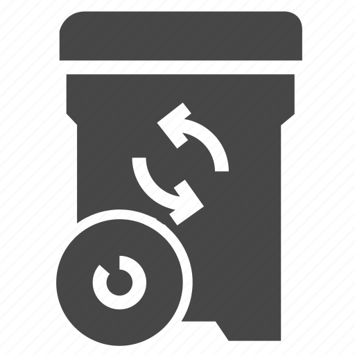 bin, ecology, recycle icon