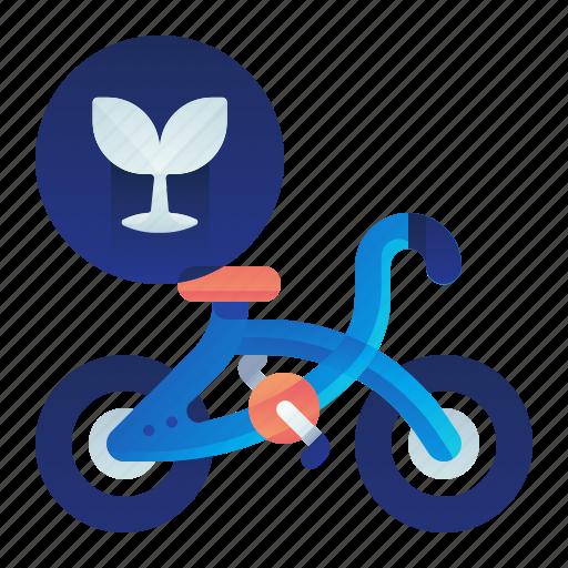 bicycle, ecology, transportation, vehicle icon