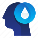 ecology, ecominded, environment, thought, water icon