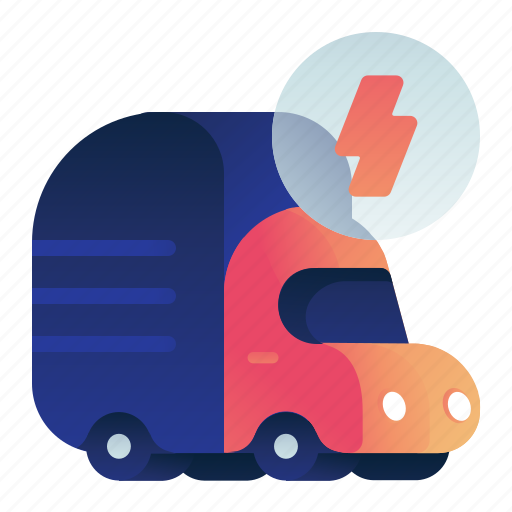 Electric, power, transportation, truck, vehicle icon - Download on Iconfinder